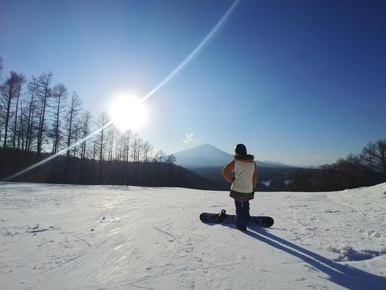 良い天気でしたが・・・|軽井沢スノーパークのクチコミ画像