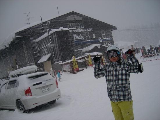 今シーズンは雪多い。|白馬岩岳スノーフィールドのクチコミ画像