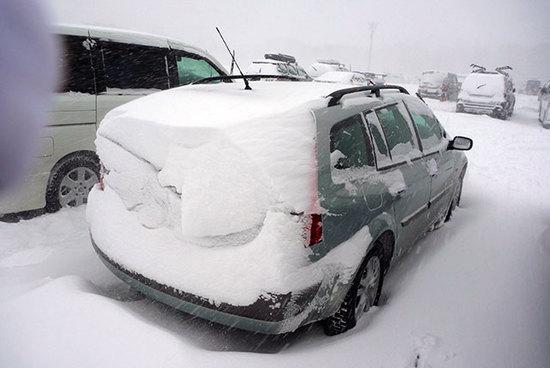 降雪の多い日は厳しい|たんばらスキーパークのクチコミ画像