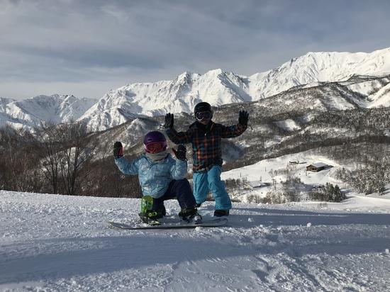 やっと晴れた‼︎山が見えたよ‼︎|栂池高原スキー場のクチコミ画像