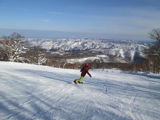 天気よし、のんびり 野沢温泉スキー場のクチコミ画像