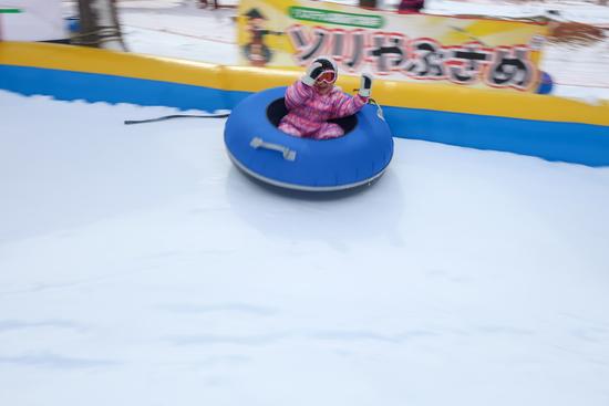 エアチューブスライダーは楽しい|リステルスキーファンタジアのクチコミ画像2