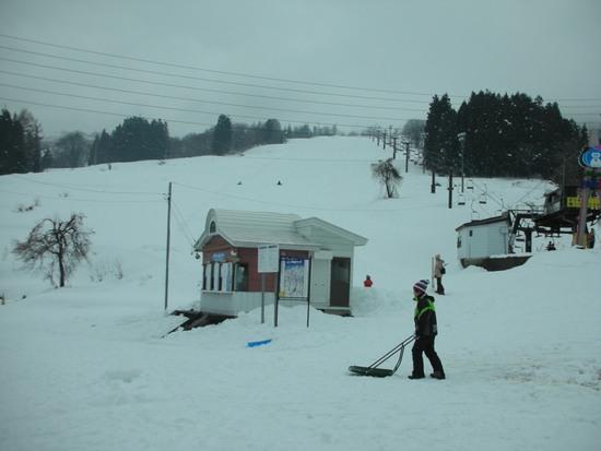 今年は雪多いです|戸狩温泉スキー場のクチコミ画像3