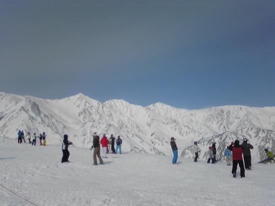 いい天気でした|白馬八方尾根スキー場のクチコミ画像