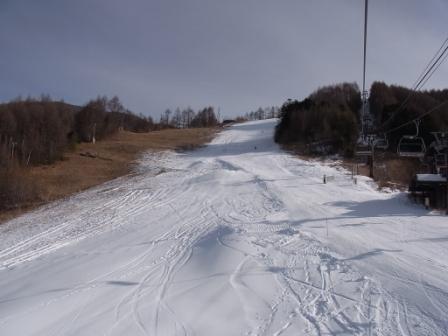 ゲレンデ拡大中|信州松本 野麦峠スキー場のクチコミ画像