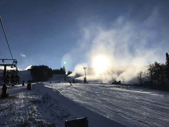 初滑り〜|鷲ヶ岳スキー場のクチコミ画像1