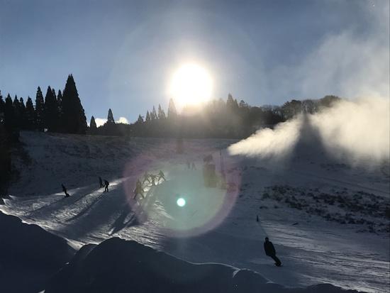 初滑り〜|鷲ヶ岳スキー場のクチコミ画像2