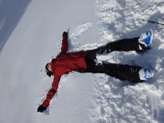 フカフカ雪で、大満足でした。|斑尾高原スキー場のクチコミ画像