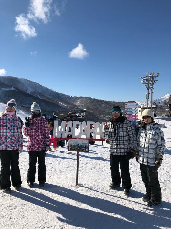 家族で初スキー、晴天で最高!|斑尾高原スキー場のクチコミ画像