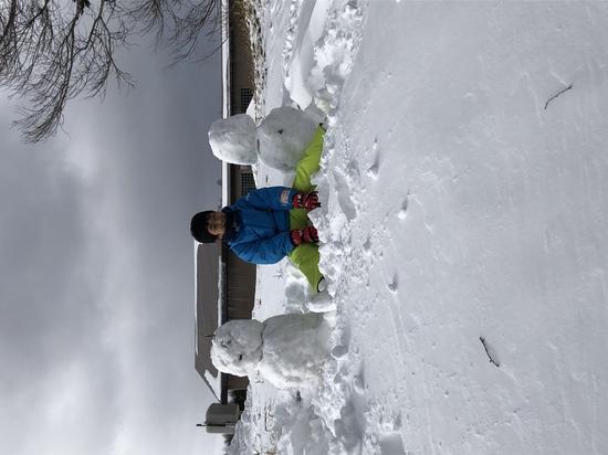 雪だるま三兄弟|箕輪スキー場のクチコミ画像