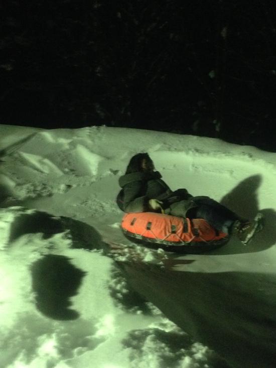 ふらの歓寒村のスノーチューブは最高!|富良野スキー場のクチコミ画像