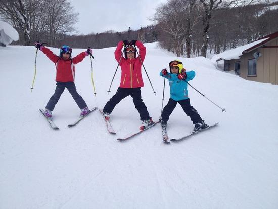 子供が遊べるスキー場 網張温泉スキー場のクチコミ画像2