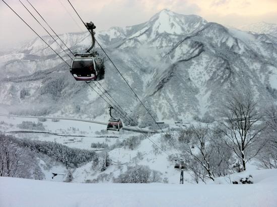 下山コースおもろ!|GALA湯沢スキー場のクチコミ画像