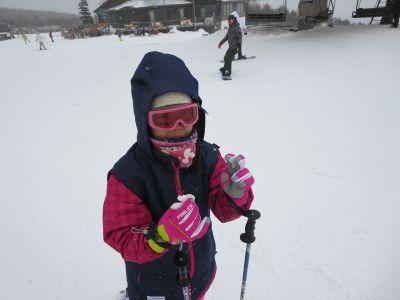 今シーズン一番の大寒波の中滑走|サンメドウズ清里スキー場のクチコミ画像