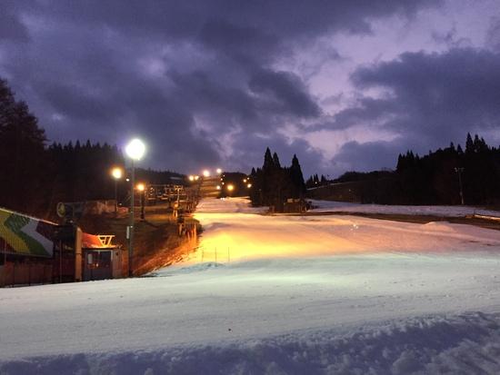 初滑り~だけど・・・|鷲ヶ岳スキー場のクチコミ画像