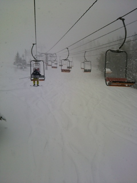 雪がすごい|奥神鍋スキー場のクチコミ画像2