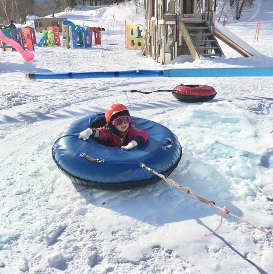 フカフカ雪でキッズパークも充実|苗場スキー場のクチコミ画像