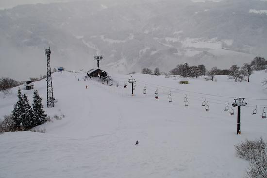 膝時々、腰パウ。|さかえ倶楽部スキー場のクチコミ画像1