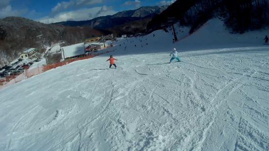 子供の練習によいゲレンデ|やぶはら高原スキー場のクチコミ画像