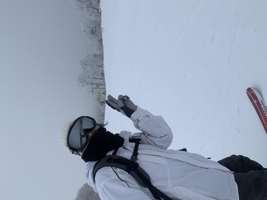 樹氷に囲まれて|箕輪スキー場のクチコミ画像