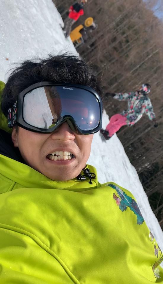 見てこの笑顔(激しく転倒後)|丸沼高原スキー場のクチコミ画像