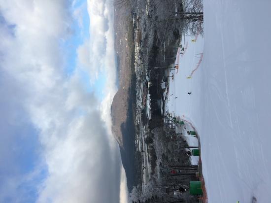 朝一番のプリンスゲレンデ|軽井沢プリンスホテルスキー場のクチコミ画像