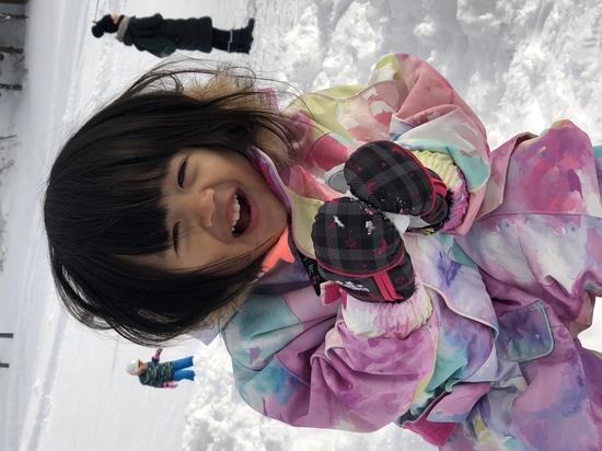 初めての雪|湯沢中里スノーリゾートのクチコミ画像