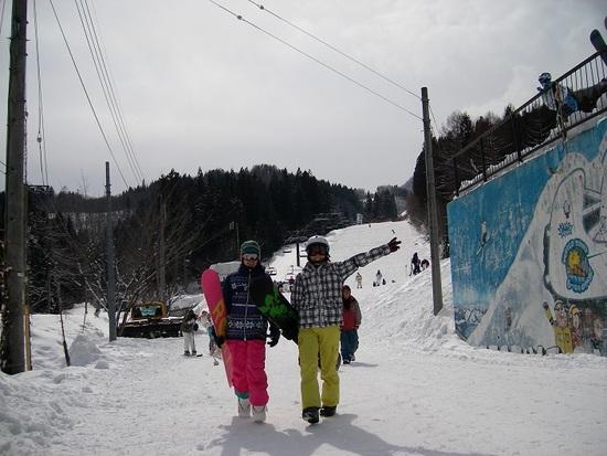 ファミリー向けのみならず、カップルにも|白馬さのさかスキー場のクチコミ画像