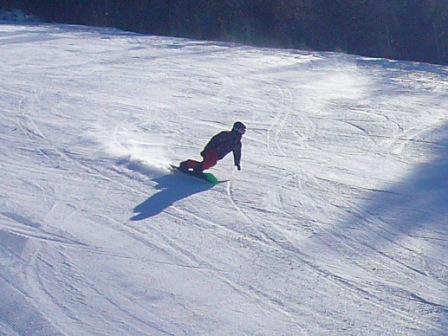 小雪がかぶりました|信州松本 野麦峠スキー場のクチコミ画像