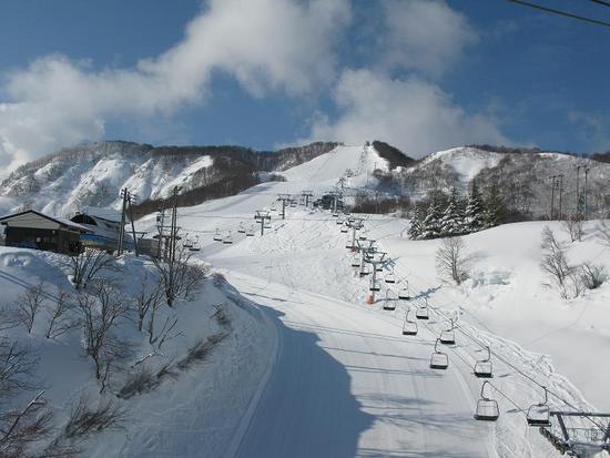 コースが短くて疲れません。|石打丸山スキー場のクチコミ画像