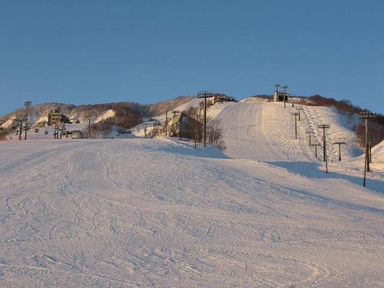 コースが短くて疲れません。|石打丸山スキー場のクチコミ画像2