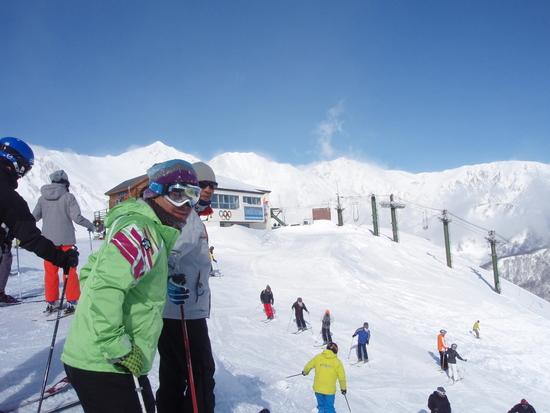 雪質サイコー・ピーカンでした!!|白馬八方尾根スキー場のクチコミ画像