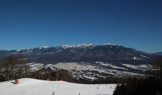 晴れて景色がすごくよかったです!