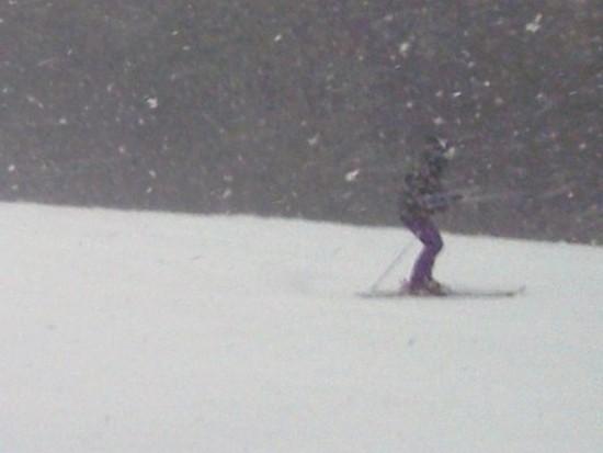 吹雪かれちゃいました・・・|オグナほたかスキー場のクチコミ画像