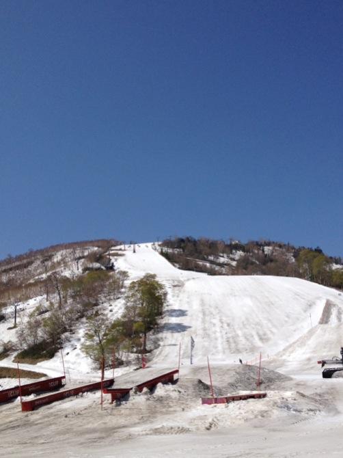 長いシーズンの終わりに|かぐらスキー場のクチコミ画像
