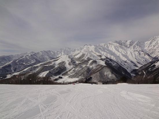 周囲の山々が素晴らしくきれい!|白馬岩岳スノーフィールドのクチコミ画像