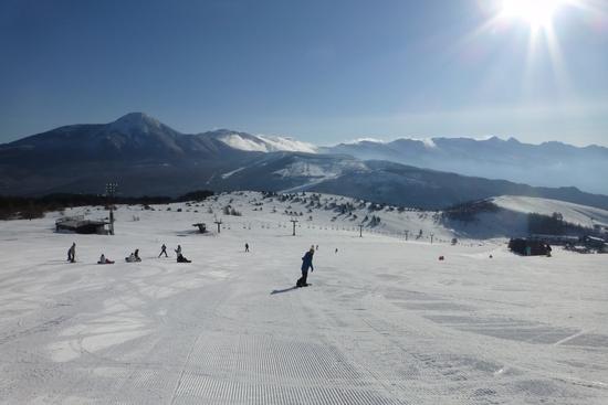 最高の天気 車山高原SKYPARKスキー場のクチコミ画像