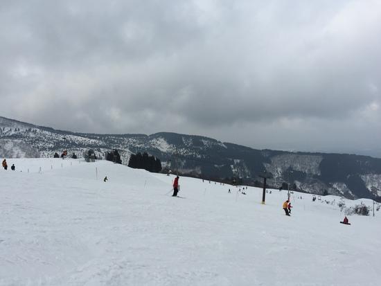 今日はイマイチだった|牛岳温泉スキー場のクチコミ画像2