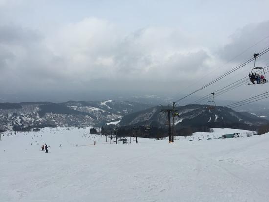 今日はイマイチだった|牛岳温泉スキー場のクチコミ画像3