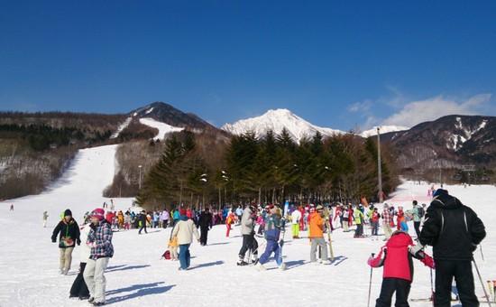 2月11日 晴天無風爽快スキー|サンメドウズ清里スキー場のクチコミ画像