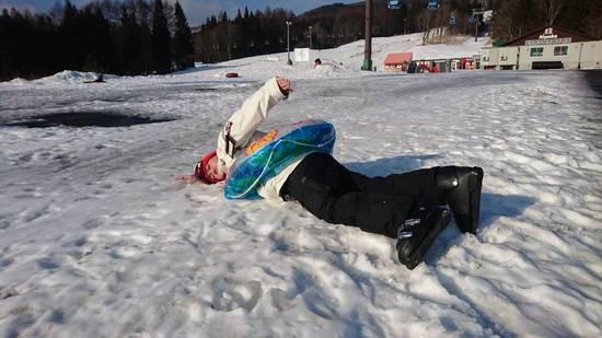 雪はいずこへ・・・|妙高杉ノ原スキー場のクチコミ画像