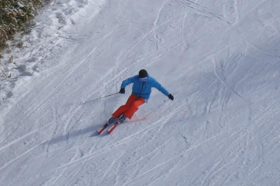 コースは意外に空いて|信州松本 野麦峠スキー場のクチコミ画像