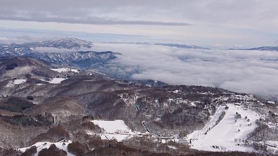 パウダーを求めて…|斑尾高原スキー場のクチコミ画像