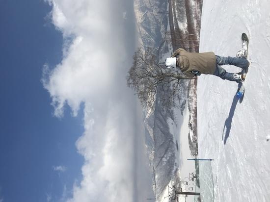 白く凍る田代湖|かぐらスキー場のクチコミ画像