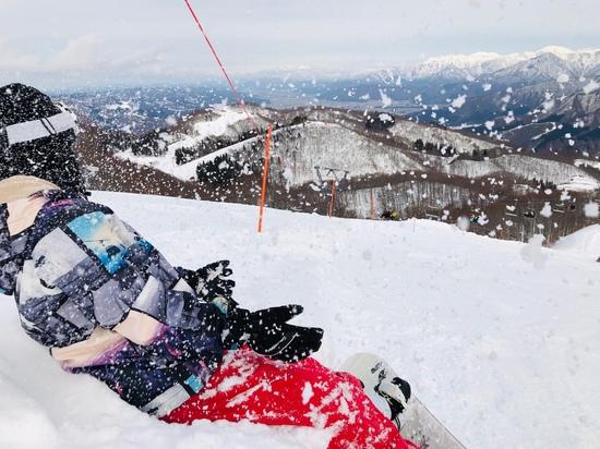 雪不足の中楽しく滑れた!|GALA湯沢スキー場のクチコミ画像1