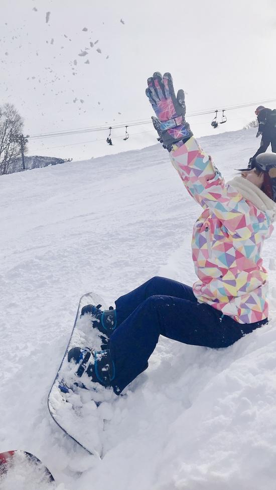 雪不足の中楽しく滑れた!|GALA湯沢スキー場のクチコミ画像2