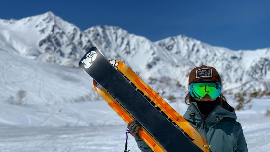 スノースケートと白馬三山|白馬八方尾根スキー場のクチコミ画像