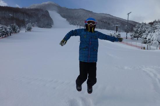 初雪遊び エコーバレースキー場のクチコミ画像