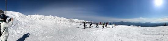 中級と言っても…怖い…でも一度行ったらヤミツキ|白馬八方尾根スキー場のクチコミ画像1