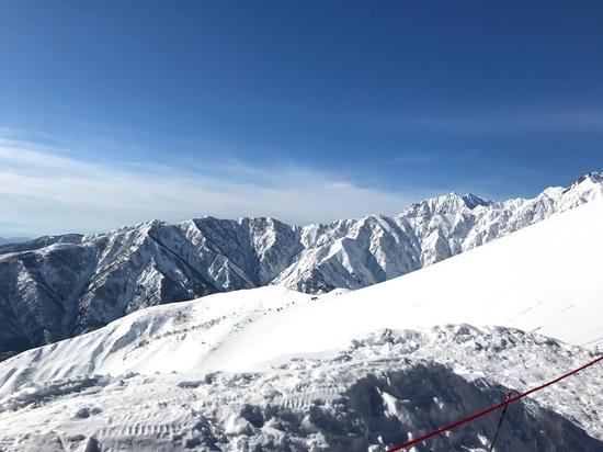 中級と言っても…怖い…でも一度行ったらヤミツキ|白馬八方尾根スキー場のクチコミ画像2